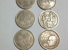 10عملة عملات معدنية مناسبات مختلفة 15 ج