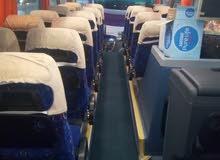 احدث الاتوبيسات السياحية للايجار باقل الاسعار باص50 راكب مرسيدس2019