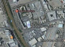 أرض 600م سكني العذيبة تصريح شقق 5 طوابق