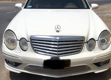 Mercedes Benz E55 AMG 2009 For sale - White color