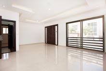 شقة طابقية180 م  بتشطيبات مميزة جدا و باطلالة خلابه على البنيات منطقة مدارس الحصاد