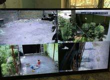 أربعة كاميرات سامسونج AHD