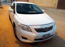For sale 2009 White Corolla