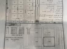 للبيع ارض سكنية في ارض الجو المرحلة الاولى