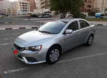 Mitsubishi Lancer car is available for sale, the car is in  condition