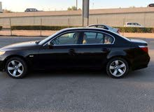 Black BMW 520 2004 for sale