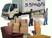 نقل وفك وتركيب وتغليف جميع الأغراض والأثاث المنزلي والمكتبي مع ضمان سلامة وصولها