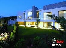 قصر في دابوق مساحة الارض 4000 مساحة البناء 4000 السعر 4500000