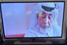 شاشة 55 انش + رسيفر تايجر + طاولة تلفزيون