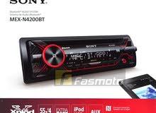 مسجل سيارة sony الأصلي بلوتوث  CD MP3 - AUX - USB - Radio AM-FM - Bluetooth
