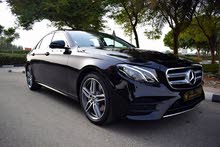 For rent a Mercedes Benz E 200 2018