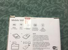 روتر هواوي من شركة فودافون جديد بالكرتون استعمال ثلاث ايام يتصل عشر اجهزة يغطي اكثر من عشرة امتار