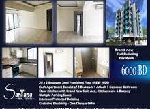 Full Building 20x2 Bedroom Flats For Rental In New hidd