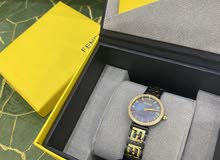 Watch with FF logo bracelet