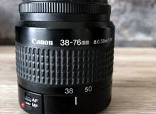 canon lens 38-76 25mm