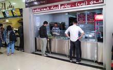 مطعم مأكولات يمنية وخليجية للبيع بكامل معداته في شارع الجامعة بسعر مغري مغري