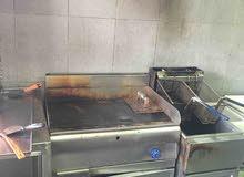 معدات مطعم عدة مطعم شواية شاورما قرل