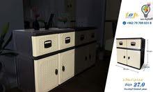 خزائن مطبخ ولغيره من الاستخدامات سهلة التنظيف وعملية من البلاستيك المقوى