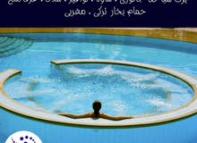 إنشاء و صيانة برك سباحة نوافير شلالات غرف بخار حمام مغربي ساونا