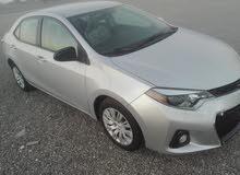 For sale 2015 Silver Corolla