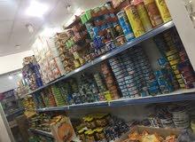 سوق مواد غدائية للبيع في جنزور