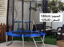 ترامبولين **التركيب والتوصيل مجاناً داخل عمان**