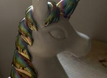 تمثال يوني كورن ملون