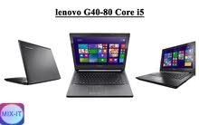 لابتوب Lenovo G40-80 Core i5 مستعمل فقط 1400 شيكل