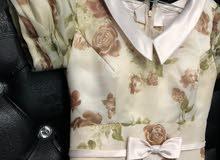 فستان تفصيل مستعمل مقاس S