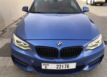 Blue 228i BMW  for sale