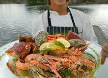 مطلوب  شيف أسماك وماكولات بحرية للعمل في مطعم أسماك ومأكولات بحرية