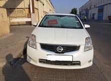 Nissan Sentra 2012 model