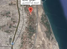للبيع ارض زراعي + وحده سكنيه 3147 متر لوى الزاهيه قريب البحر والخط الساحلي