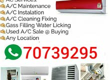 I Do A/C Fixing , A/C Services , And A/C Sale