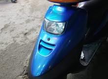 دراجه 140 فضائي لون ازرق