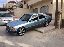 Blue Mercedes Benz E 190 1985 for sale