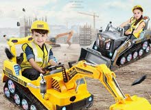 CONSTRUCTION RIDE ON EXCAVATOR & BULLDOZER