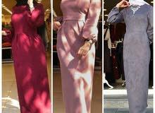 فستان تركي خامة شامو