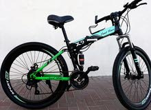 دراجة هواىية ممتازة قابله للطي خفيفت الوزن