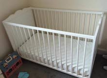 سرير اطفال من حديث الولاده الا 5 سنين