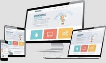 تصميم موقع الالكتروني في مجال عمالك