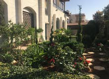 Jubaiha neighborhood Amman city - 307 sqm house for rent