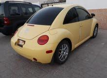 Yellow Volkswagen Beetle 2003 for sale