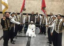 متعهد حفلات وزفات فرقة عراضة شامية وزفة فلسطينية وزفة اردنية ومطربين ومنشديين