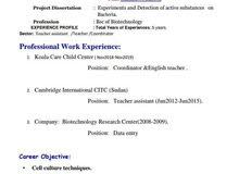 أبحث عن عقد عمل لمعلمه. ..مترجمه...سكرتيرة أو إدارة مركز اطفال