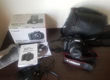كاميرا كانون 600D مستخدم نظييف بالكرتون