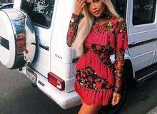 فستان شراشيب