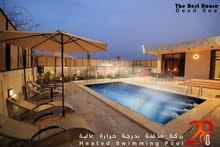 شاليه جديد على طريق البحر الميت ، مع مسبح مدفئ مناسب للشتاء