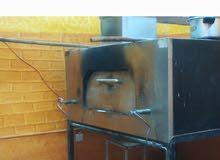 للبيع فرن غازي لشوي الذبائح والاسماك ويستخدم لتجهيز المعجنات