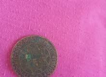 قطعة نقدية نادرة 50 فرنك
